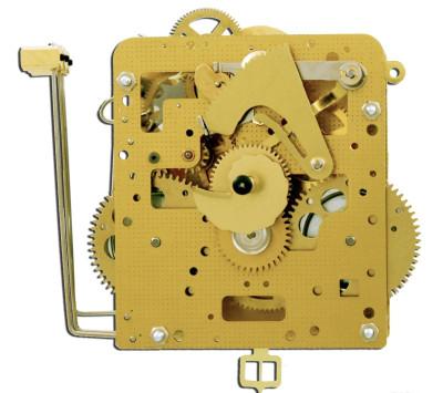 Ketting uurwerk Hermle 261-030, 7-daag's, slingerlengte 55cm, slag op gong