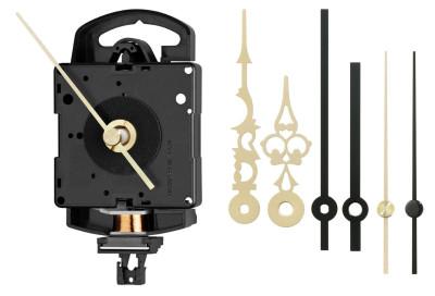 Kwarts slingeruurwerk set Junghans SK 817 inclusief wijzers, wwl 20,10 mm