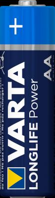 Varta 4906 batterij, 4 pak LR6, Mignon, AA
