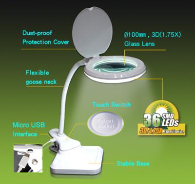 LED-loeplamp met USB-aansluiting