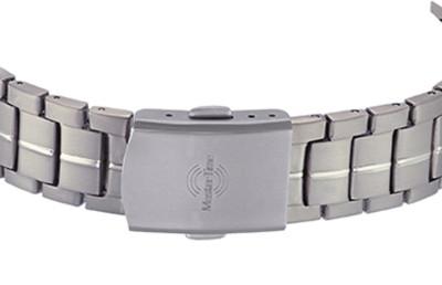 MasterTime Damen-Funkuhr Expert Titan bicolor - MTLT-10354-42M
