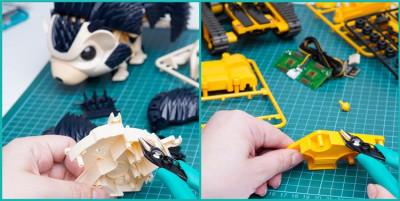 Zijkniptang voor kunststof/ plastiek tot 3mm