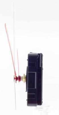 Kwarts uurwerk set LP incl. wijzers, kruipende secondewijzer, WWL 11 mm - speciaal voor platen