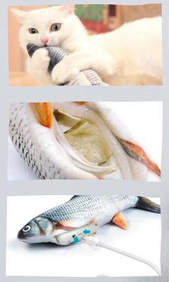 Kattenspeeltje Magic Fish