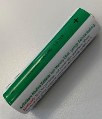"""Batterij voor Tijdsein gestuurde wekker """"Made in Germany"""" op zonne-energie"""