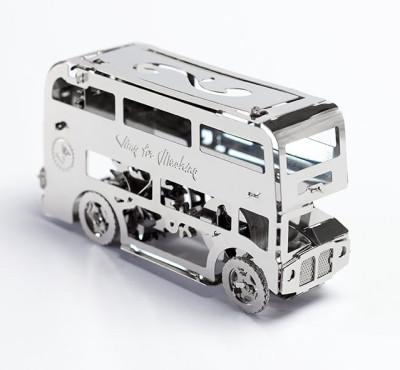 TIME FOR MACHINE functionele bouwset Dubbeldekker (London Bus)