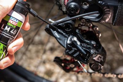 LIQUI MOLY Multifunctionele fietsspray LM40