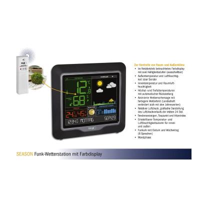 Weather instruments TFA radio weather station