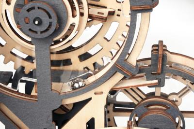 ROKR 3D Houten Knikkerbaan Night City - spectaculaire mechanica