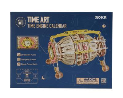 ROKR 3D Bouwset Tijdmachine Kalender / Time Machine Calender