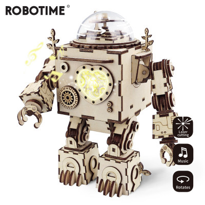 ROKR 3D Bouwset Speeldoos Robot Orpheus