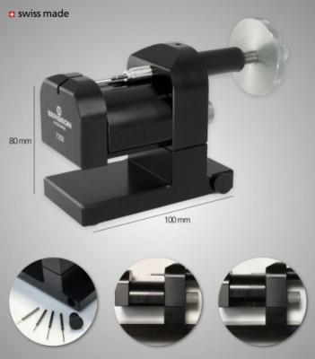 BERGEON Dispositif horizontal pour dé/chasser les goupilles de bracelets, avec 5 goupilles