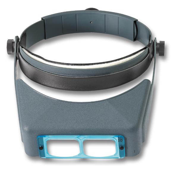 Binoculaire hoofdloep 2.5x OptiVISOR