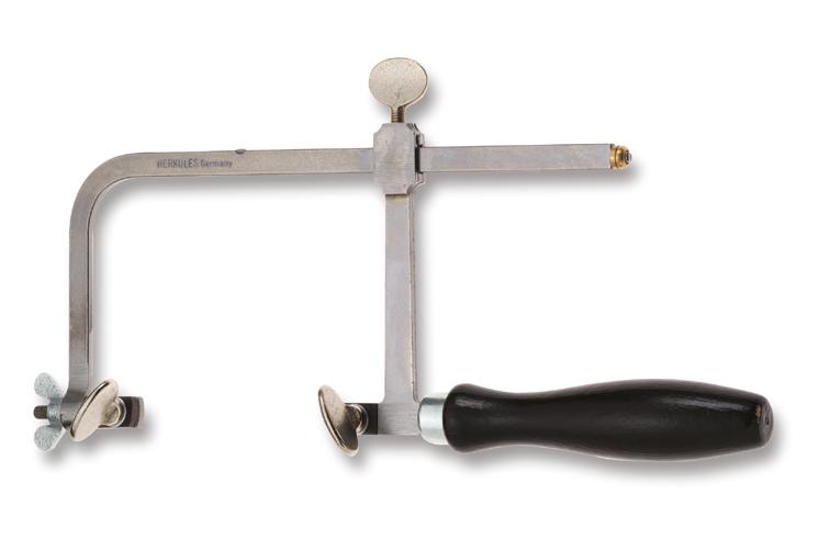 Zaagbeugel met klemschroef, uitsprong 60 mm