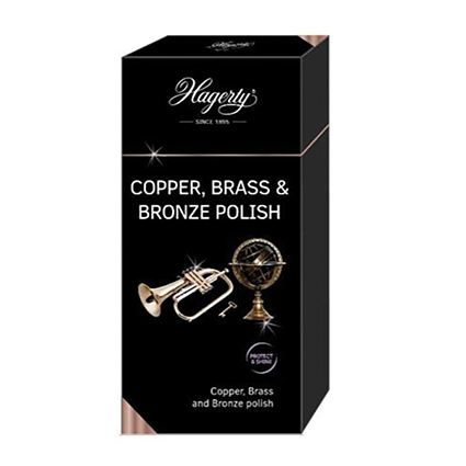 Hagerty Copper, Brass, Bonze Polish, 250 ml