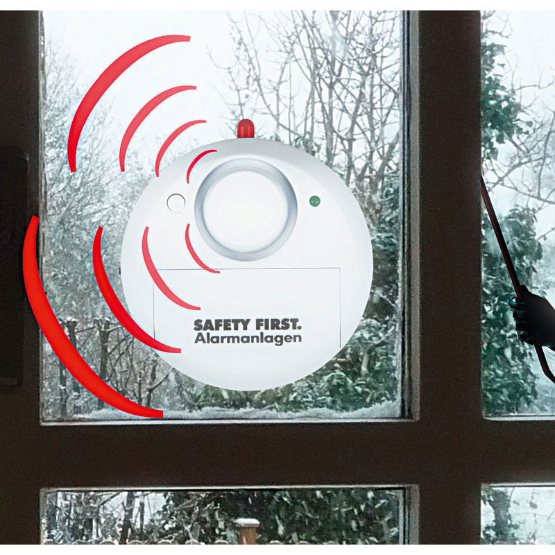 "Glasbreukalarm ""Safety First"""
