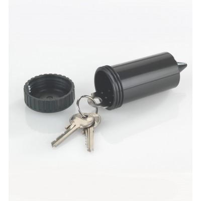 Tuinsproeier alias verstopplek voor sleutels