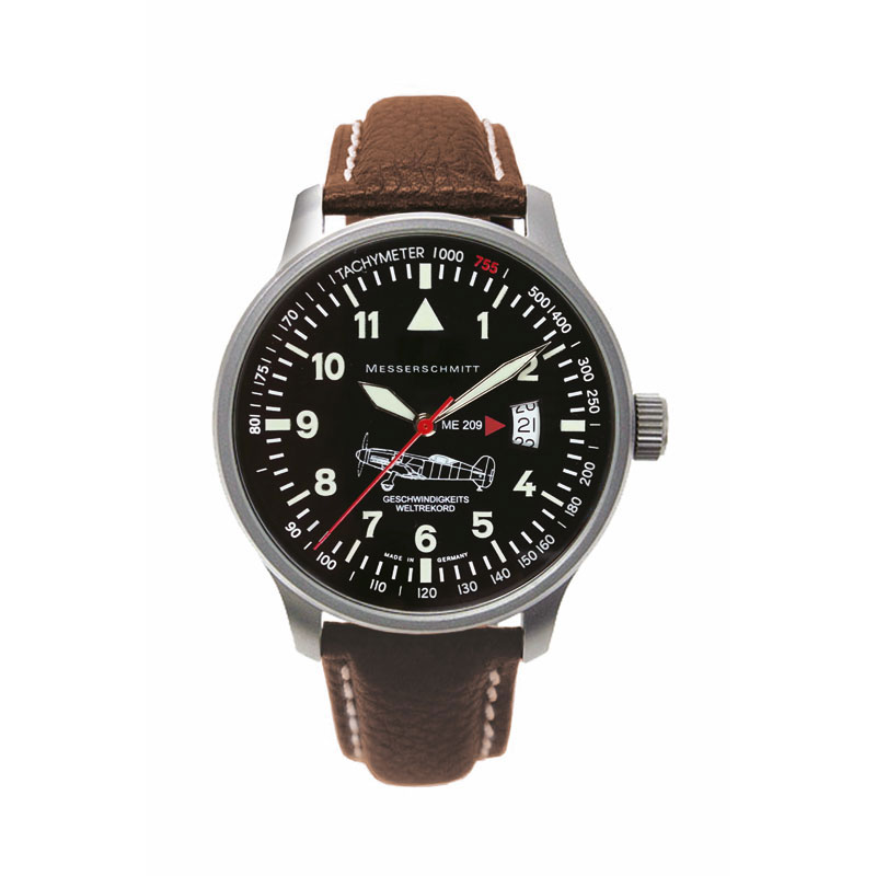 MESSERSCHMITT Men's Aviator Quartz Watch