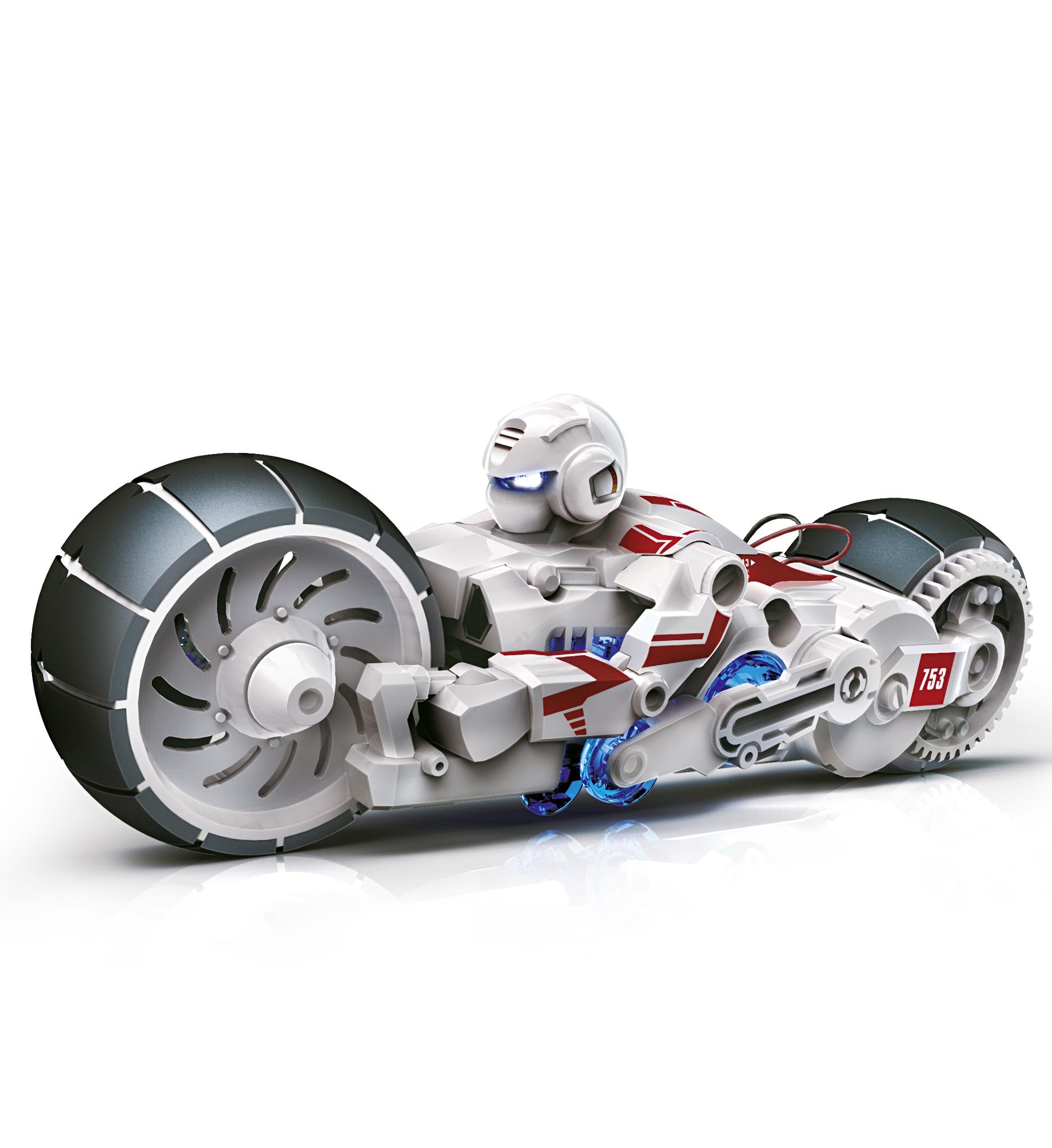 INPRO SOLAR motorfiets op zoutwater