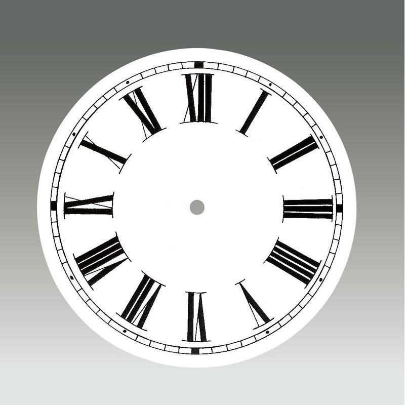 Wijzerplaat Aluminium Ø 172 mm