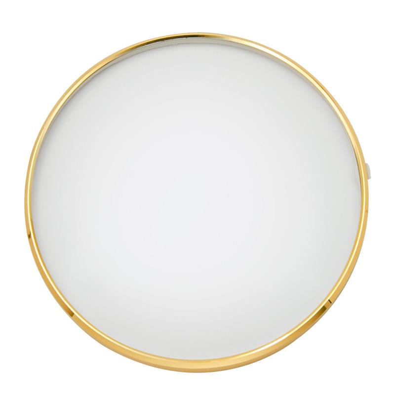 Glazen deksel met scharnier Ø 160 mm