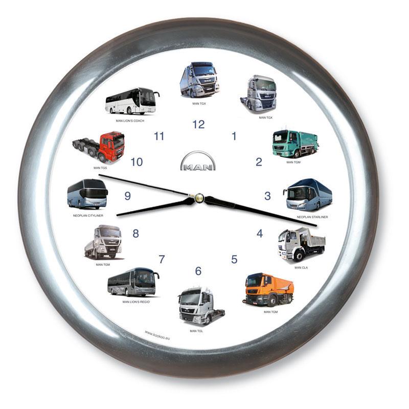 "Wandklok ""MAN Truck Clock"""
