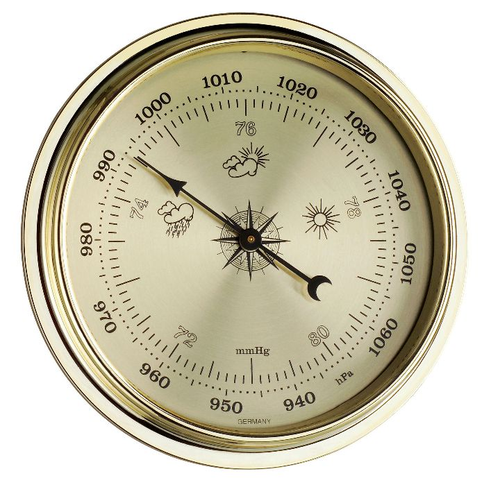 Inbouw Barometer Ø 108mm