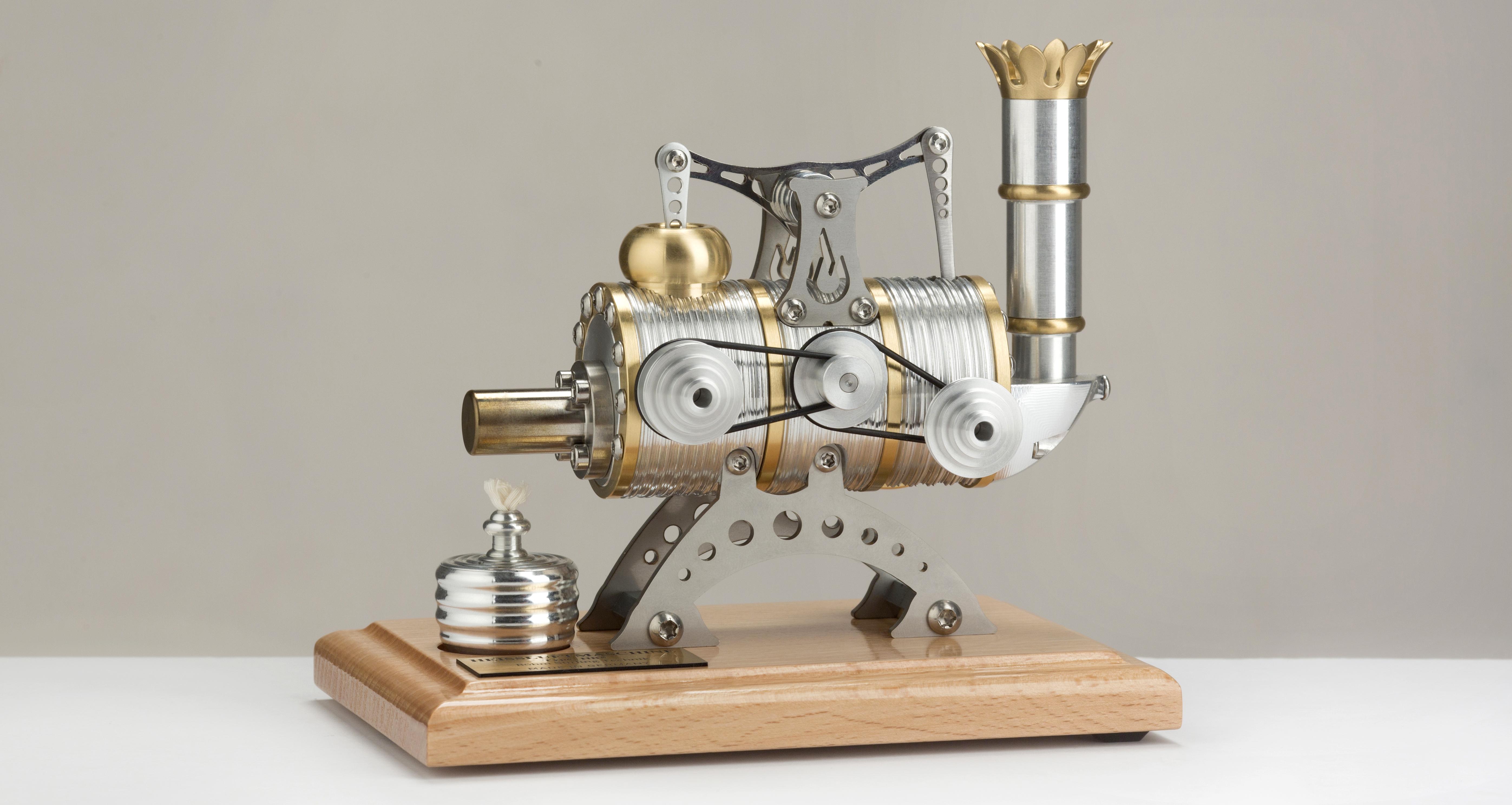 Bouwset Stirlingmotor HB5 Krachtcentrale