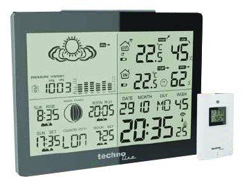 TECHNOLINE Funk-Wetterstation inkl Sensor