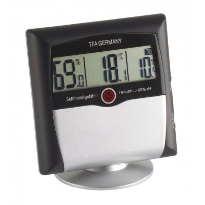 TFA Digitale Thermo-HYgrometer met schimmelalarm
