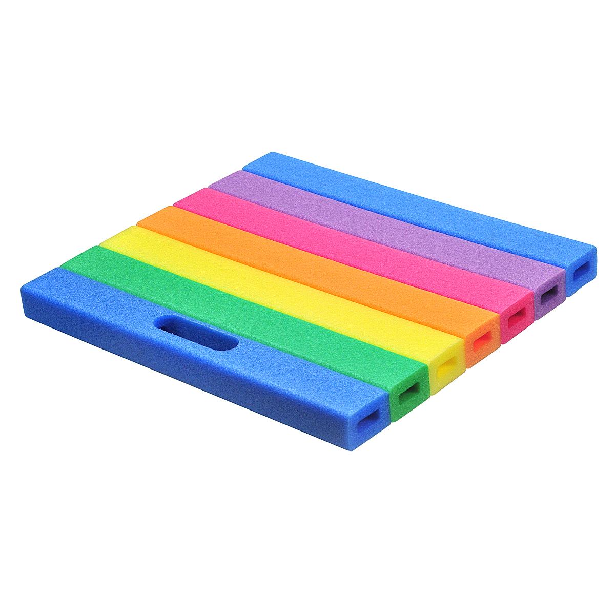 Multifunctioneel kniekussen in regenboogkleur