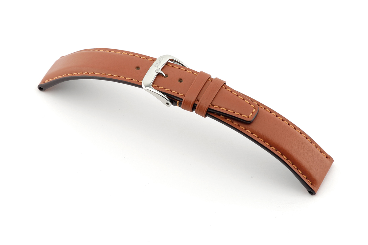 Lederband Idaho 18mm cognac