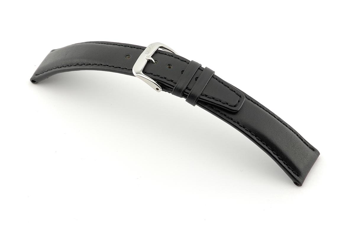 Lederband Idaho 20 mm zwart