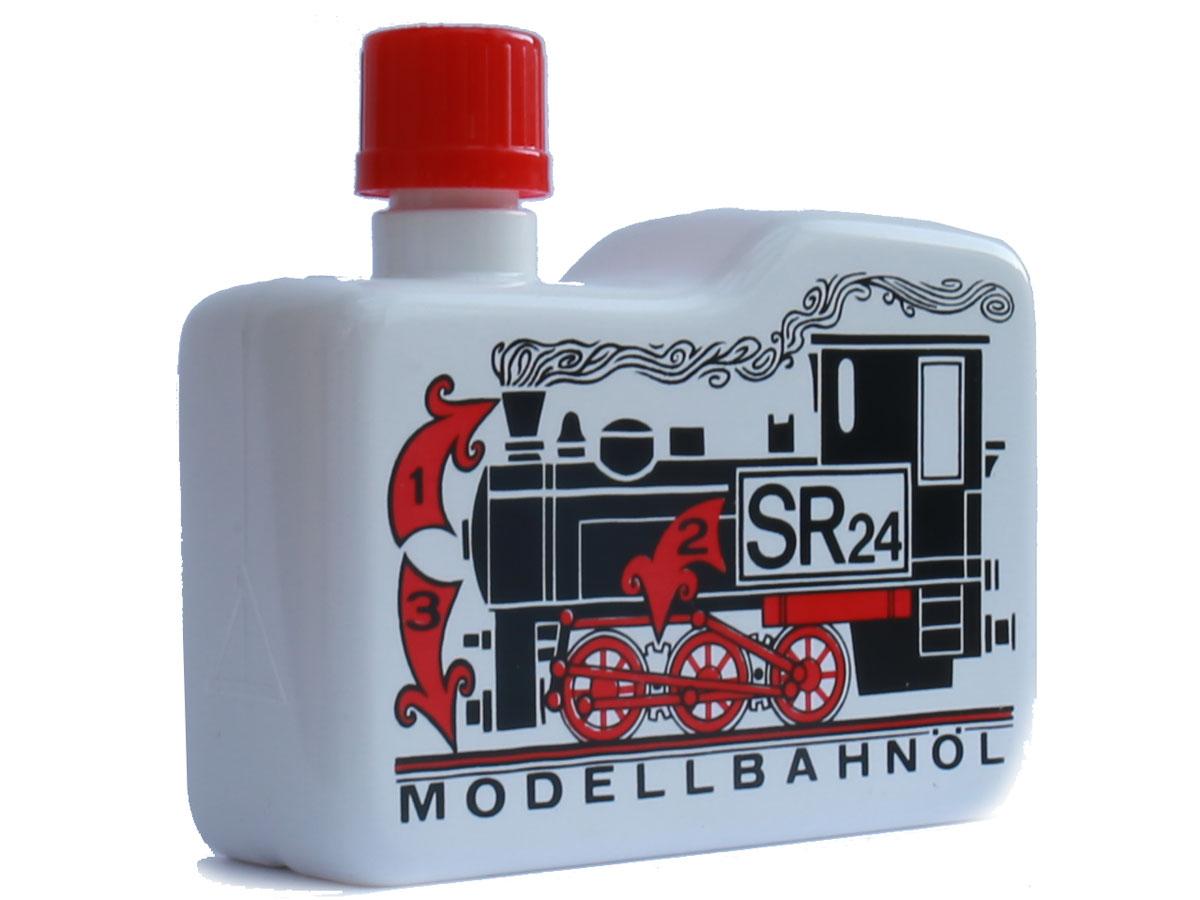 Reinigings- en Rookolie SR24, Modellbahnöl -1 Liter
