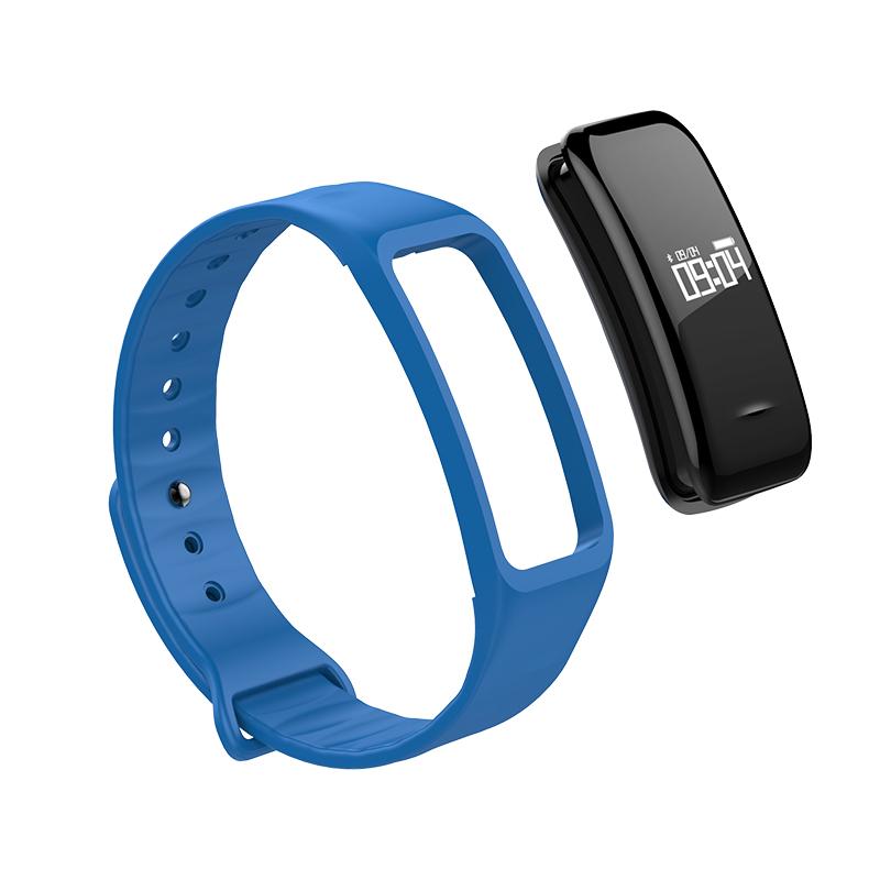 Vervangende horlogeband Fitness Tracker blauw