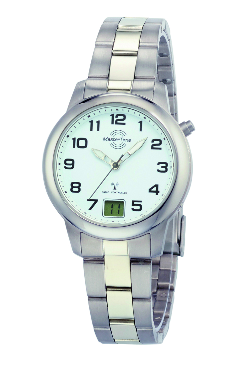 MasterTime Titanium tijdsein dames horloge Ø 34mm