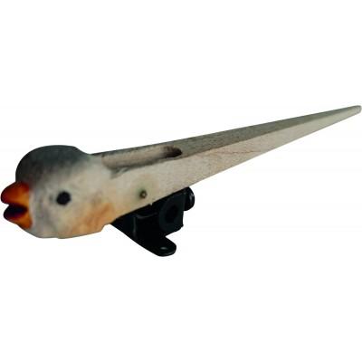 Koekoeksklok vogel met vaste vleugels, 95 mm