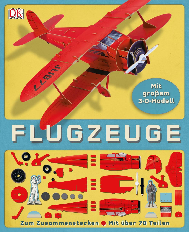 Vliegtuig - Een groot 3D model om in elkaar te steken