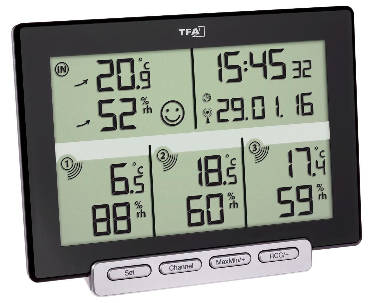 TFA Funk-Thermo-Hygrometer Multi-Sens