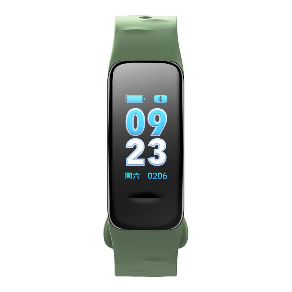 Fitness Tracker groen met kleurendisplay