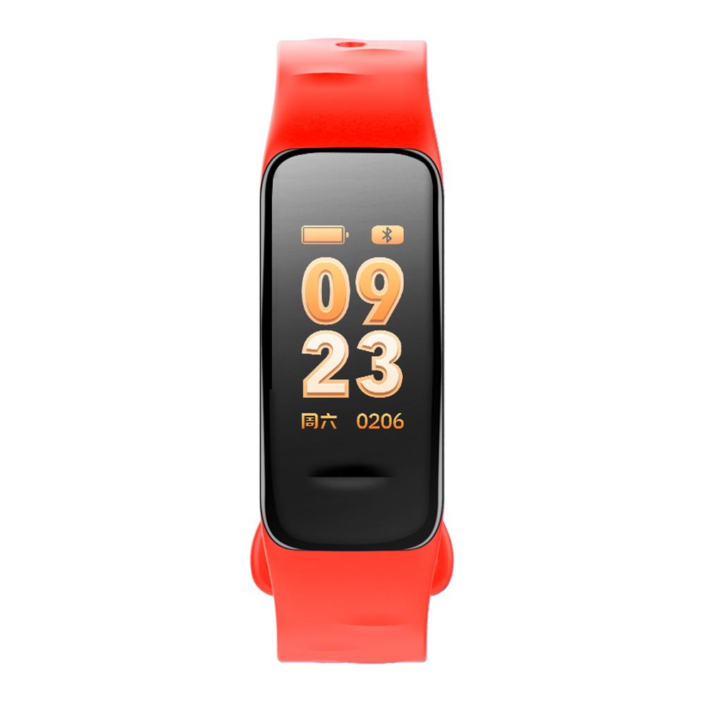 Fitness Tracker rood met kleurendisplay