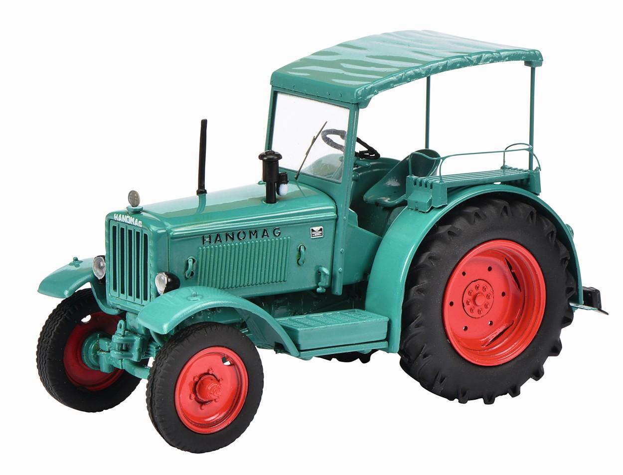 SCHUCO Model Hanomag R40 met dak, groen
