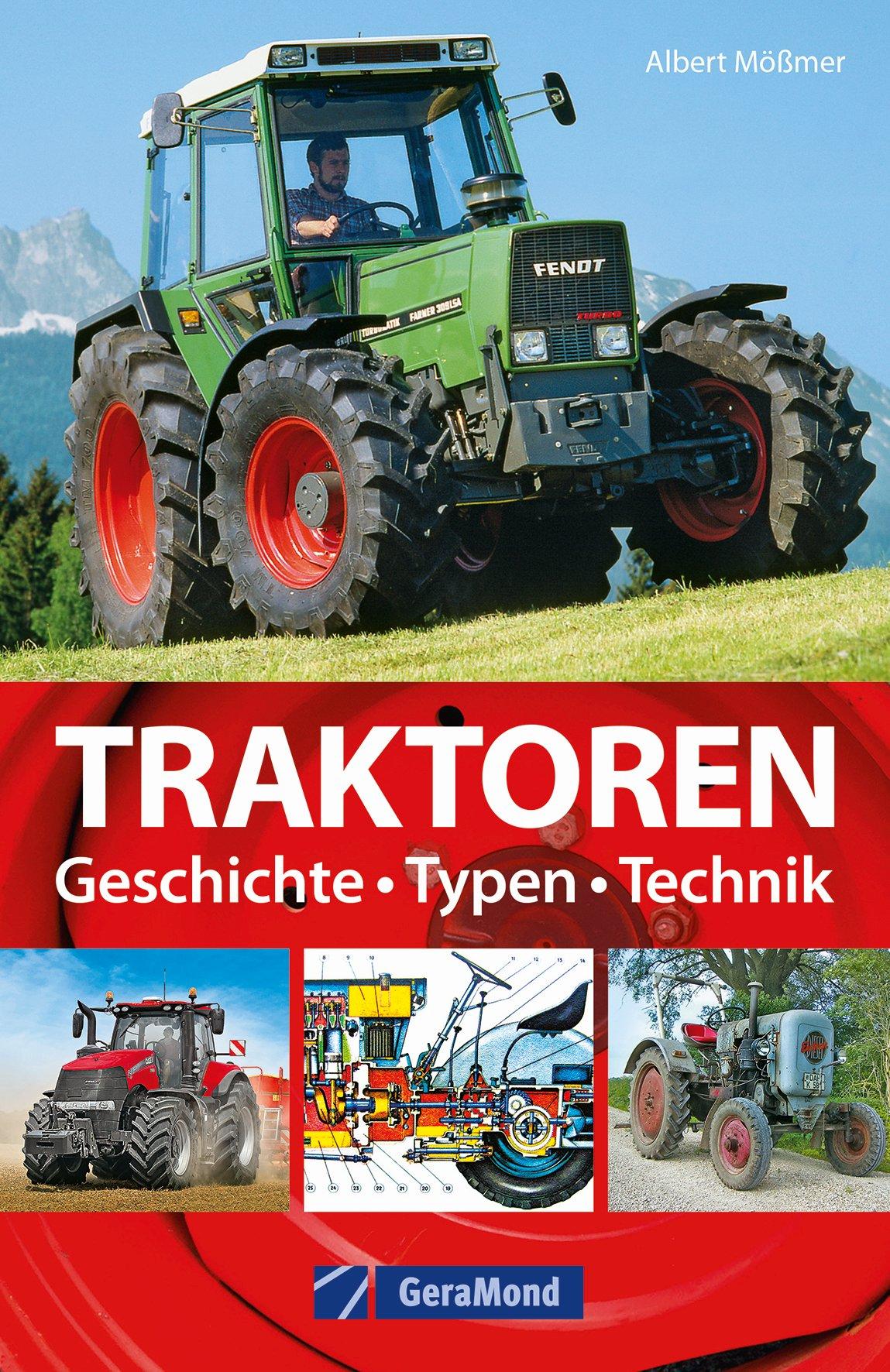 Boek: Traktoren - Typen, Technik, Einsatz