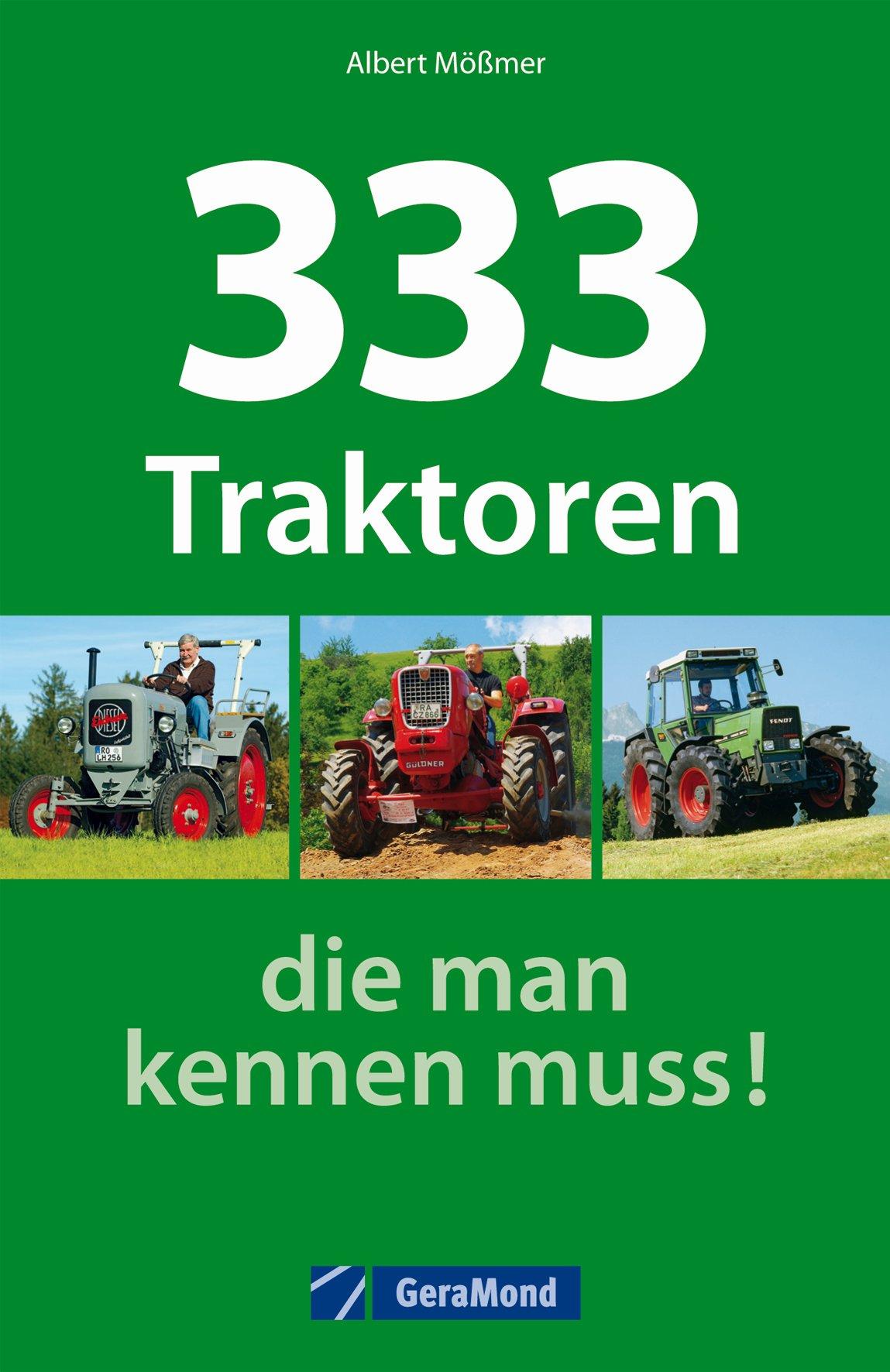 Boek: 333 Traktoren, die man kennen muss!