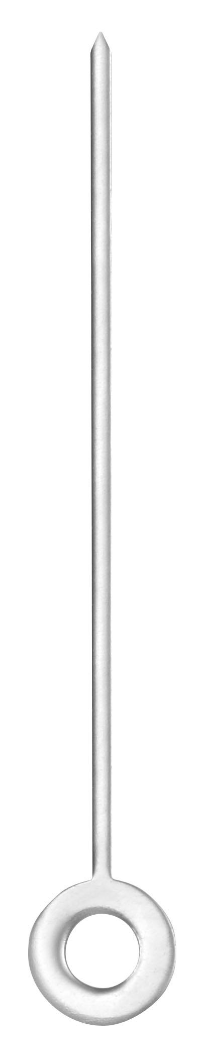 Minutenzeiger Faden Nickel, Loch Ø 1,1 Länge 13,5 mm
