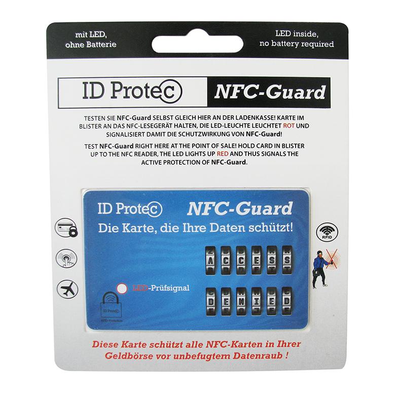 ID Protec Schutzkarte mit LED