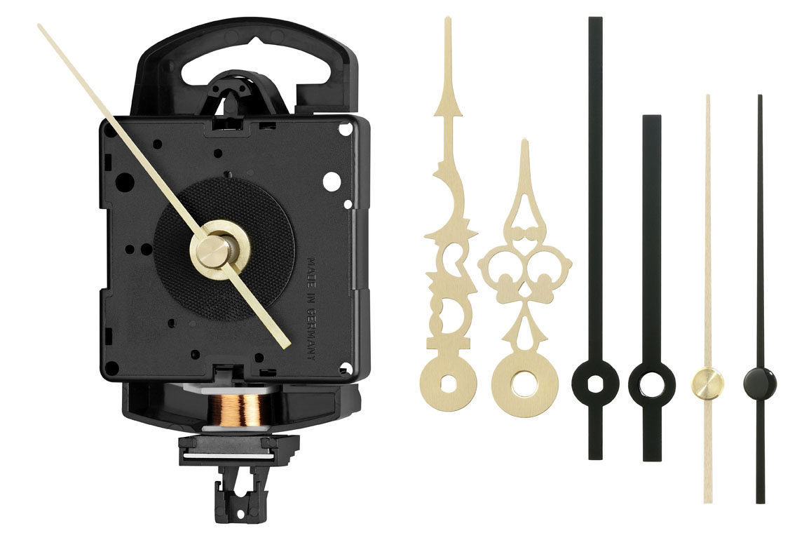 Kwarts slingeruurwerk set Junghans SK 817 inclusief wijzers, wwl 11 mm