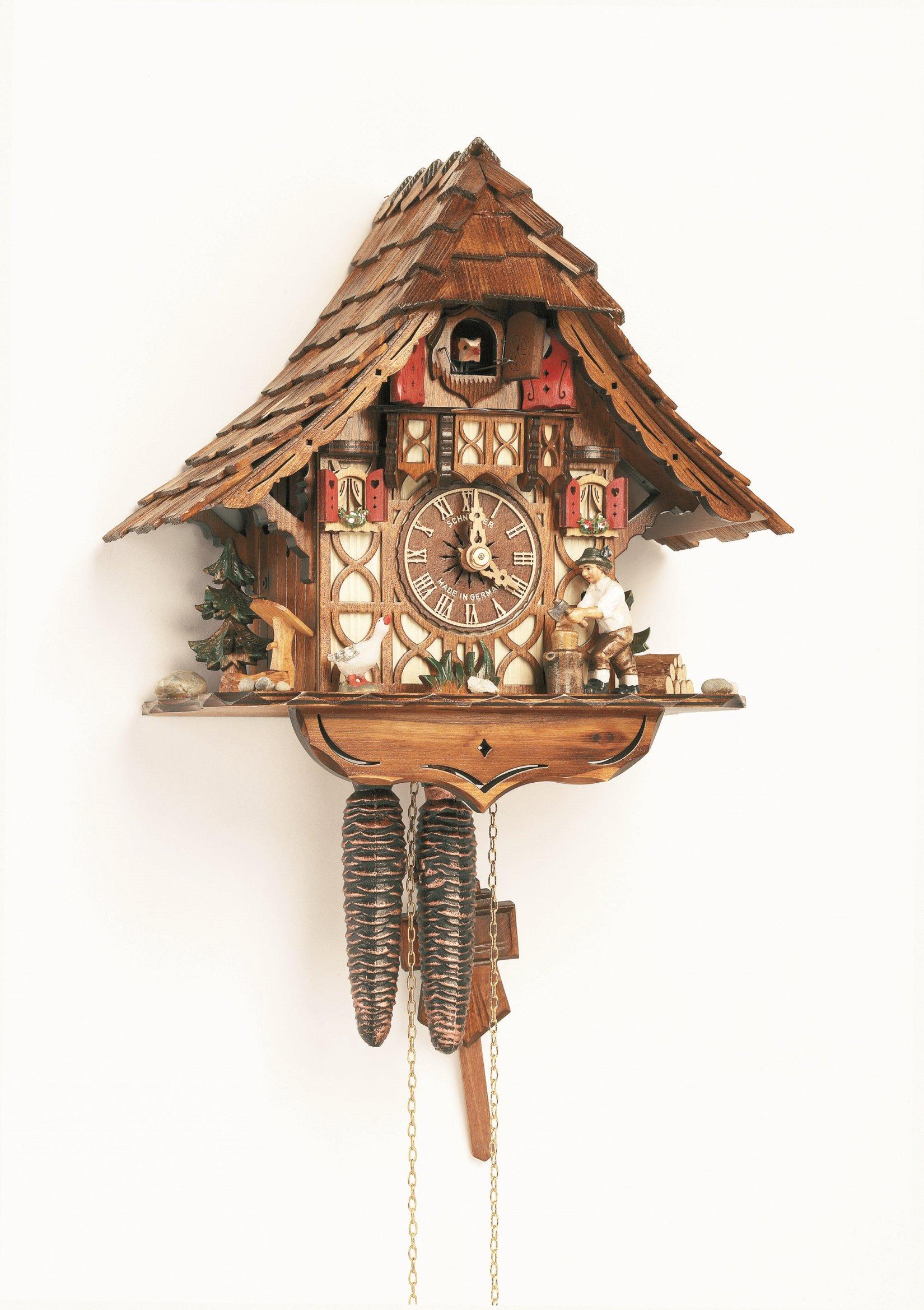 Cuckoo clock railway keeper house