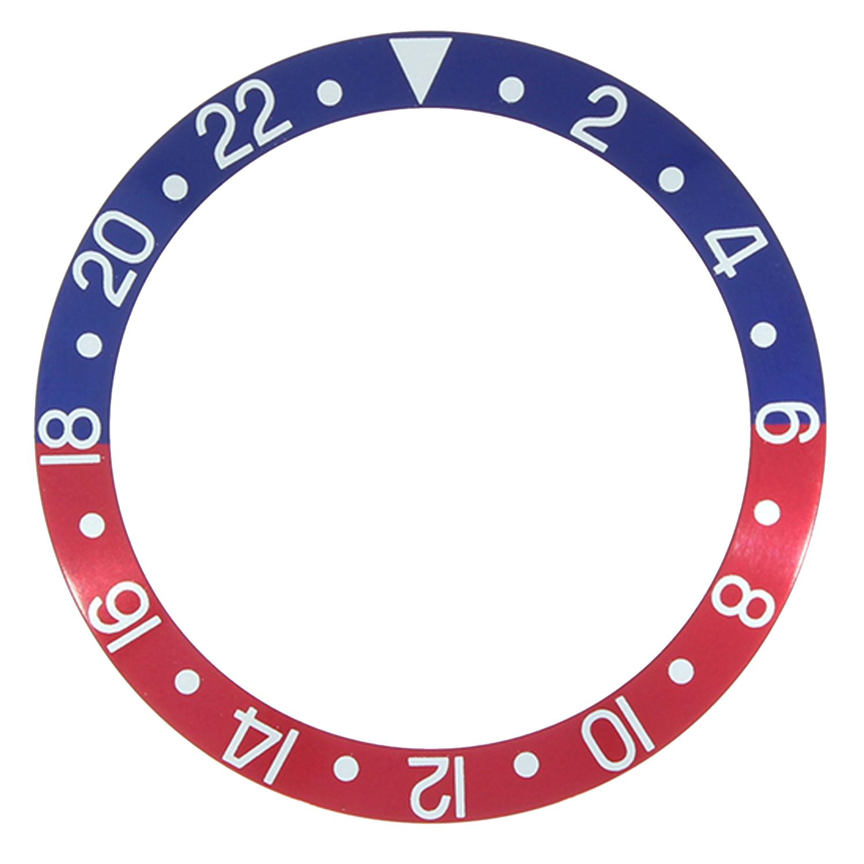 Lunet bijlage RLX best passend 2-22, blauw/ rood