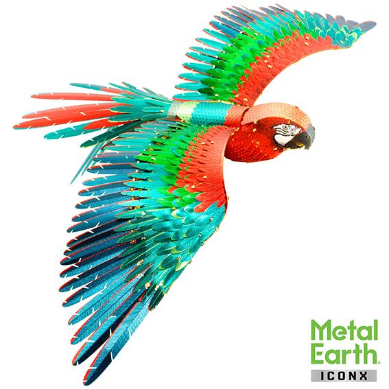METAL EARTH: 3D Papagaai set